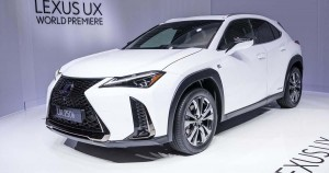 2019-Lexus-UX-250h-top-front-three-quarter